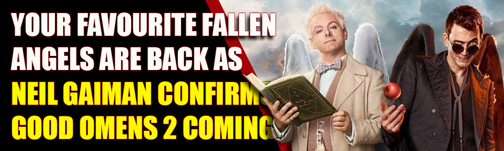 Neil Gaiman just confirmed Good Omens 2 is coming with the late Terry Pratchett's blessing