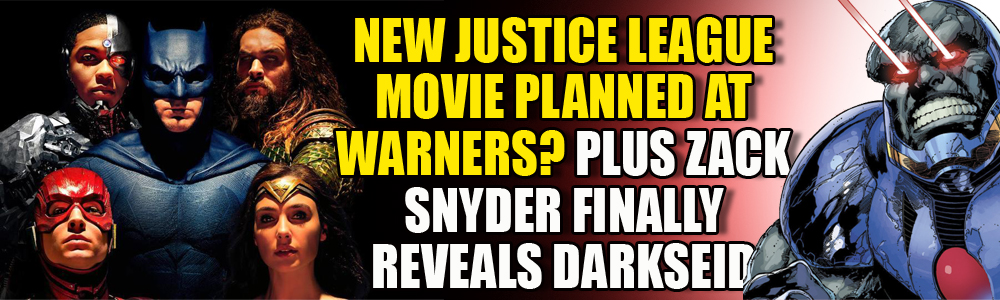 Warners may be looking into a new Justice League movie as Zack Snyder reveals Darkseid from his cut of first movie
