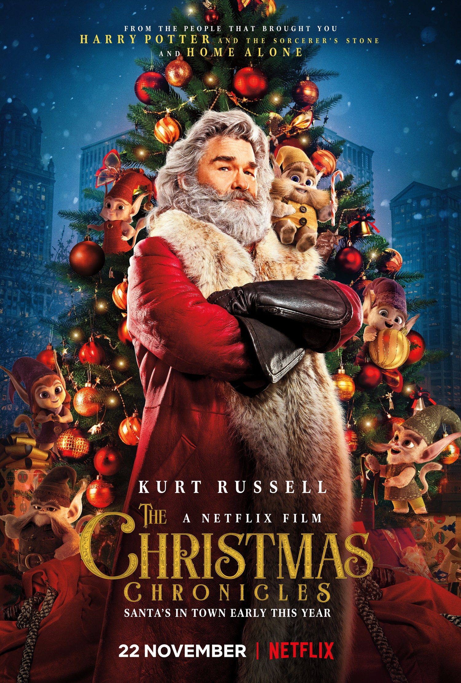 WATCH: New trailer for Netflix's The Christmas Chronicles ...