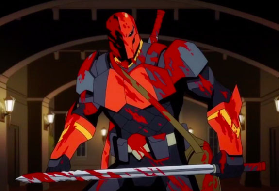 Watch Trailer Drops For Deathstroke Knights Dragons The Movie Following The Nerd Following The Nerd