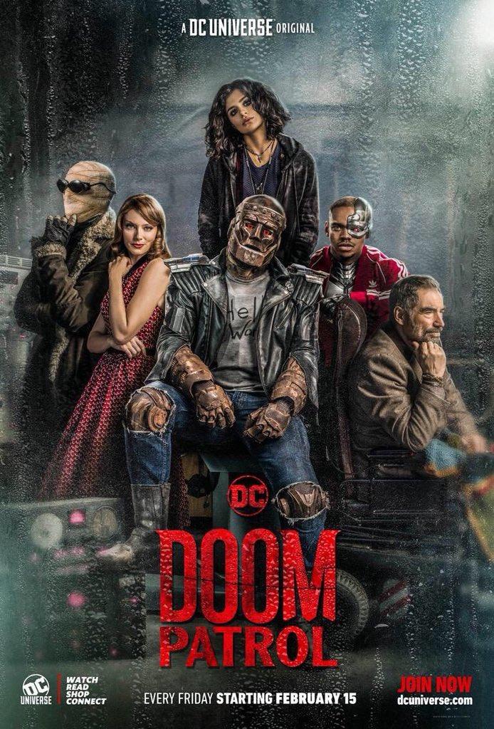 Watch Extended Trailer For Doom Patrol Season 2 Following The Nerd Following The Nerd