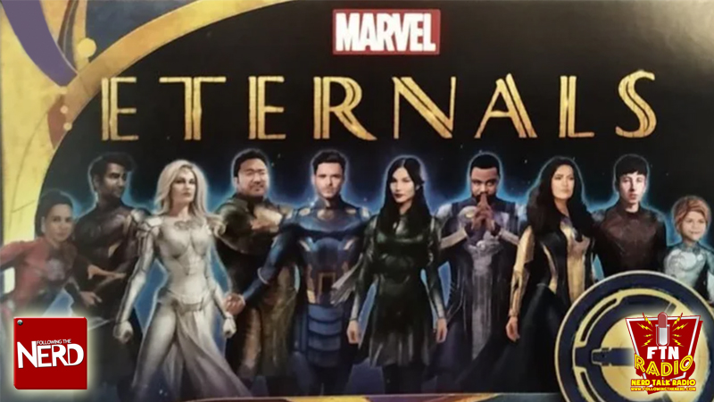 First Official Art Gives Us Look At Full Cast Of Mcu S The Eternals Following The Nerd Following The Nerd