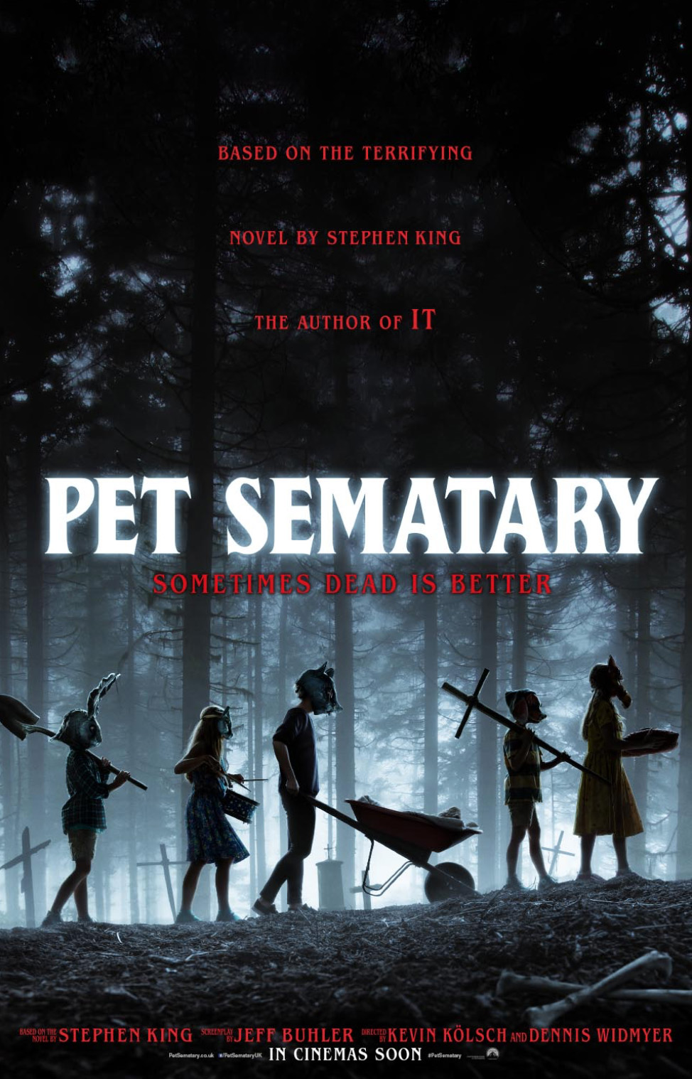 Film-makers discuss THAT change to their Pet Sematary movie
