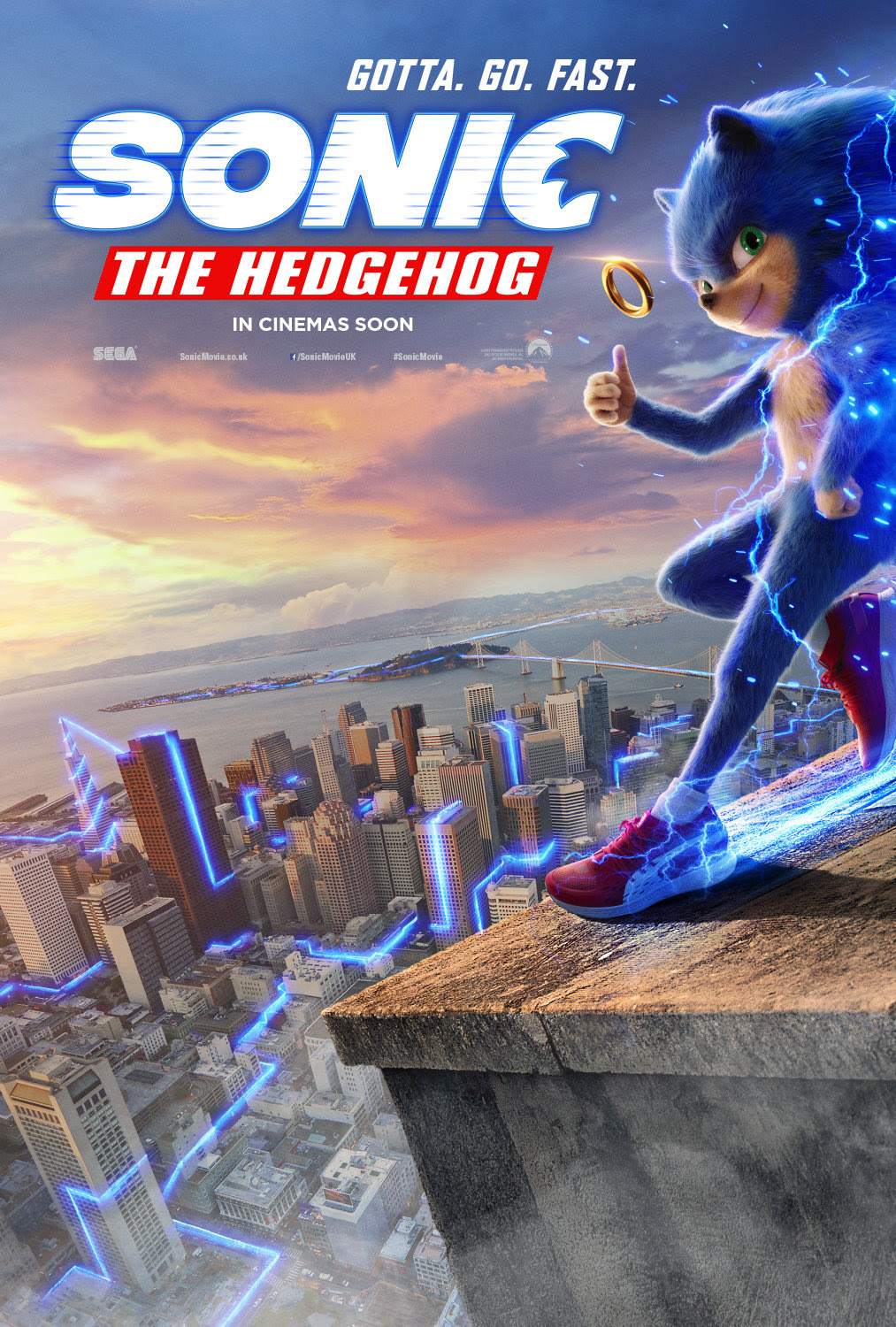 Sonic The Hedgehog Director Promises The Character Will Be Redesigned Before Movie S Release Following The Nerd Following The Nerd